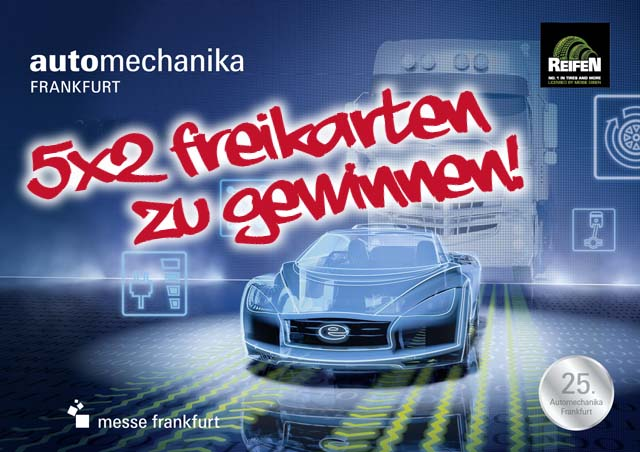 Freikarten Automechanika