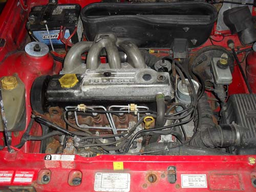 Ford Escort MK4 1,8D