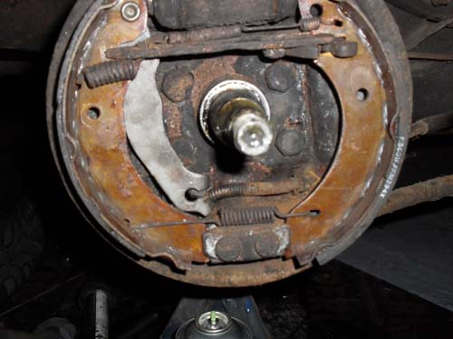 Hinterachsbremse Ford Escort MK4