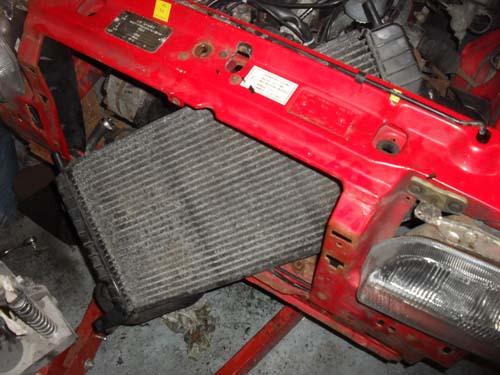 Kühler Ford Escort