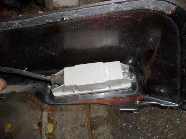 KAMEI Heckspoiler Ford Escort