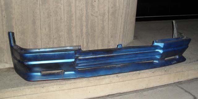 Zender Frontspoiler Ford Escort MK3