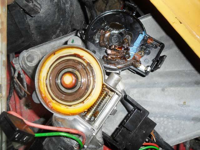 Scheibenwischermotor Ford Escort MK4