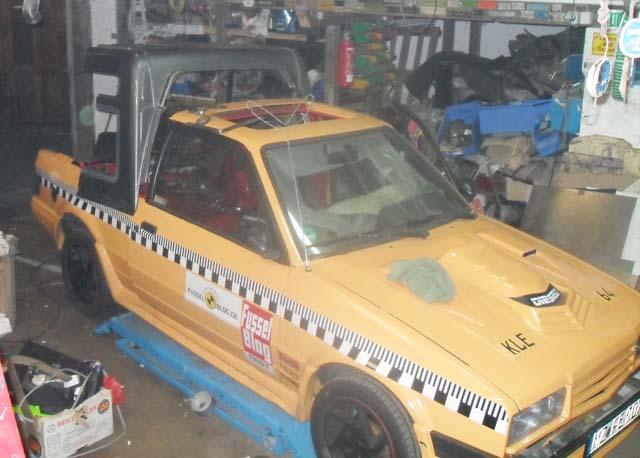 Ford Escort MK4 Hundefänger