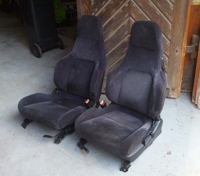 Sitze Honda Prelude