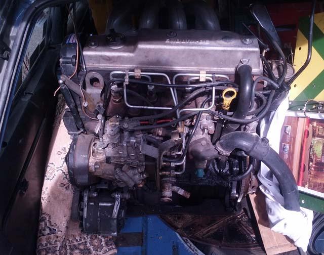 Motor Escort MK4 Diesel