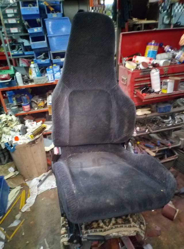 Honda Prelude Sitze