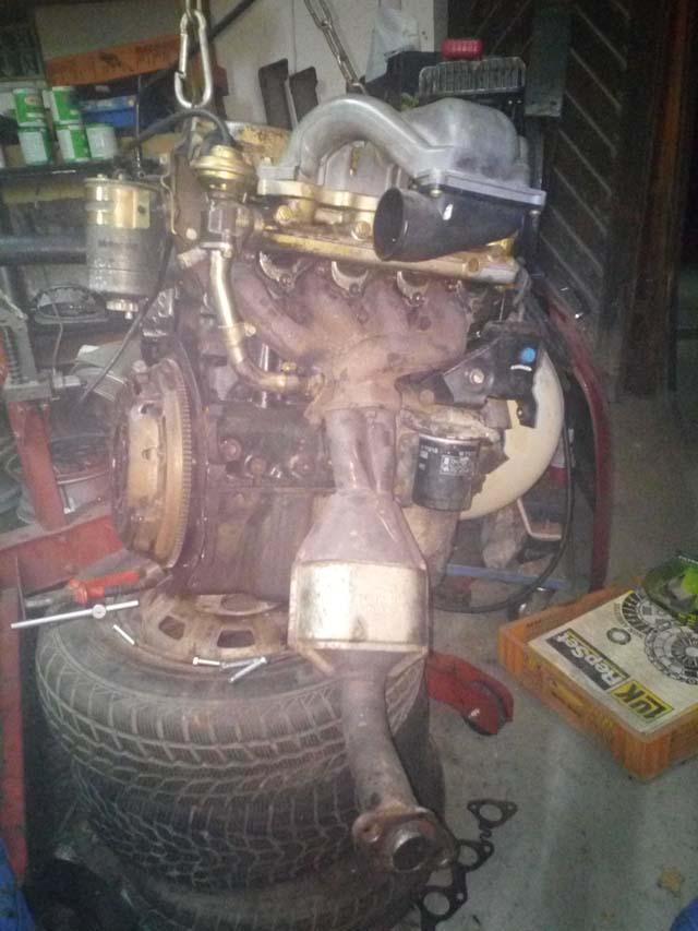 Motor Ford Escort MK4 1,8D