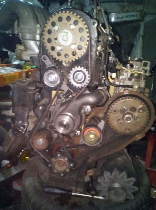 Motor Escort Diesel