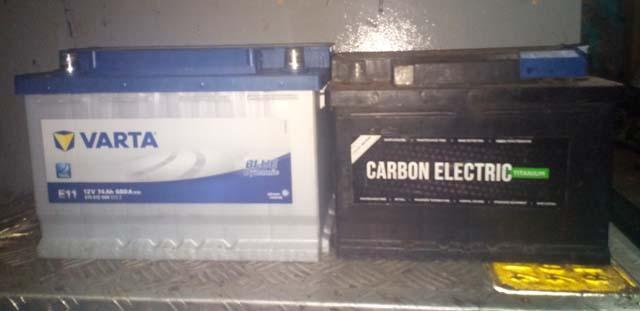 Batterievergleich