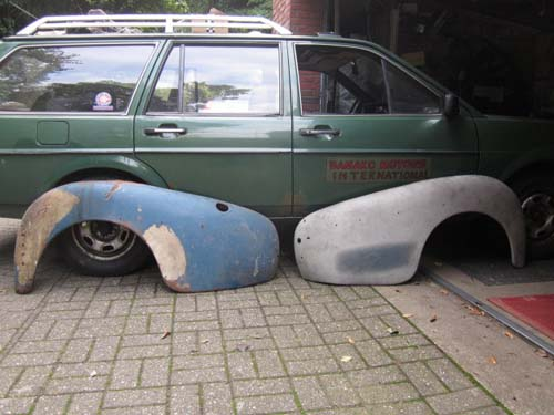 Volvo Kotflügel