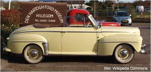 1946er Ford Super De Luxe Cabrio