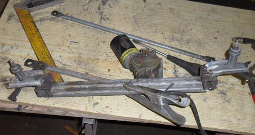 Scheibenwischermotor