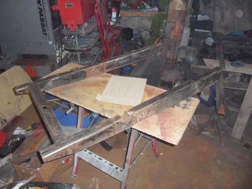 Rahmenteilstück Framo