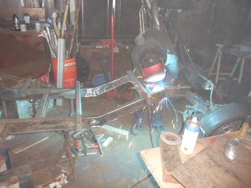 Framo Rahmen Umschweißen