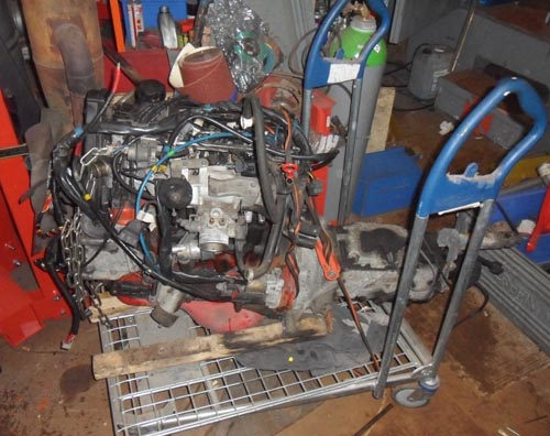 Volvo B230F Motor