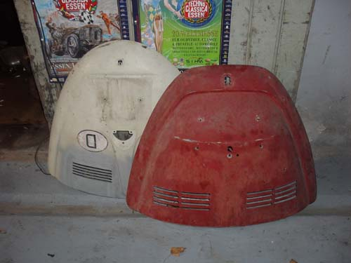 VW Käfer Motorhauben