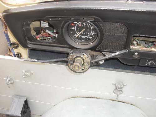 VW Käfer Vorderwagen