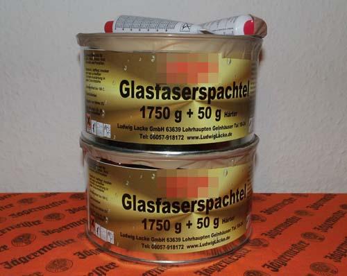 Glasfaserspachtel