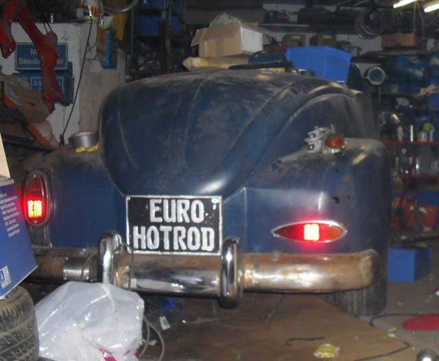 Rückleuchten Ford P6