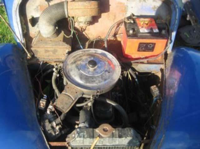 Opel Motor im Framo