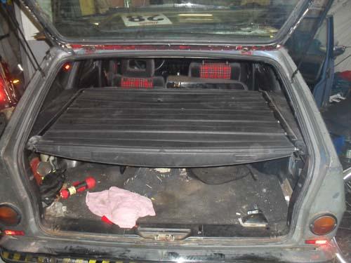Laderaumabdeckung VW Passat 32B Variant