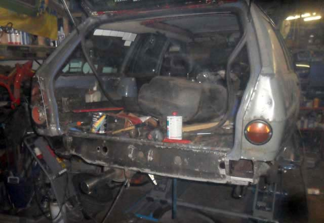 Heckblech VW Passat 32B