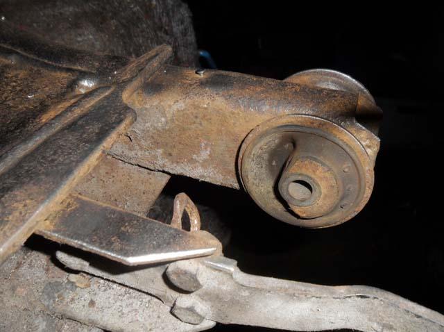 Hinterachslager VW Passat 32B