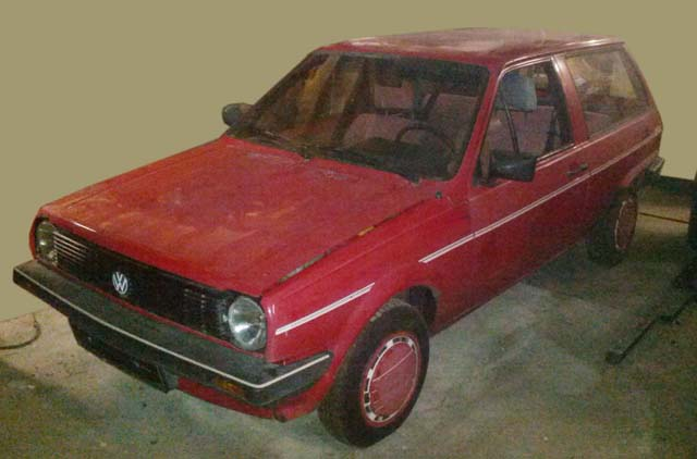 VW Polo 86C Fox