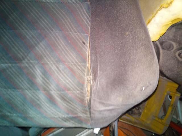 Opel Kadett E GSI Sitze