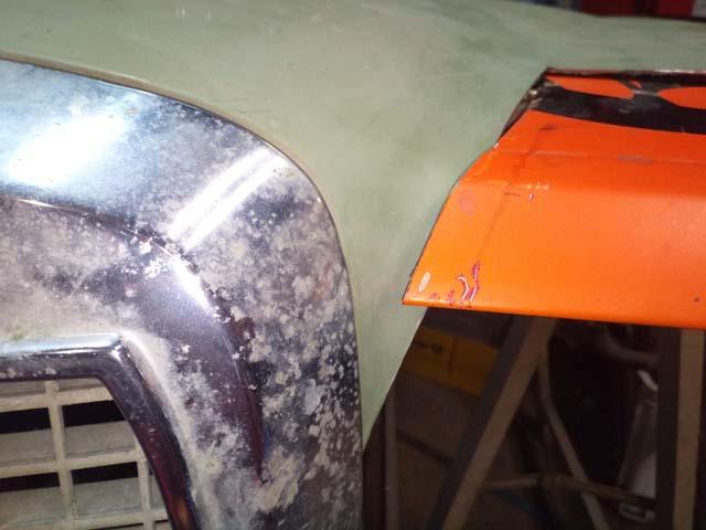 Umbau auf Mercedeshaube