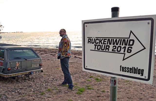 Die Planungen für die Rückenwindtour 2016 laufen