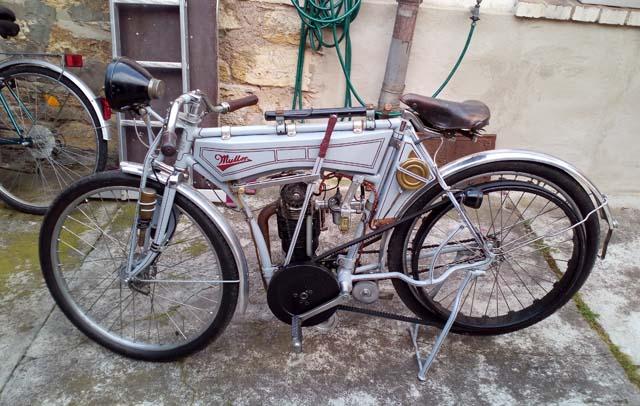 Eigenbau Motorrad