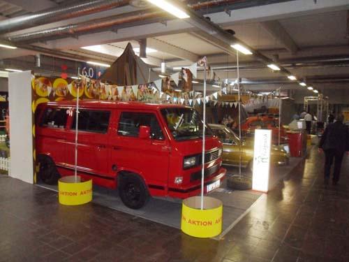 Messestand Autohaus Fickfrosch
