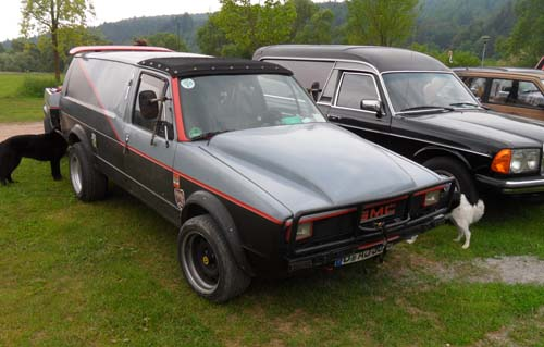 VW Caddy Panel Van