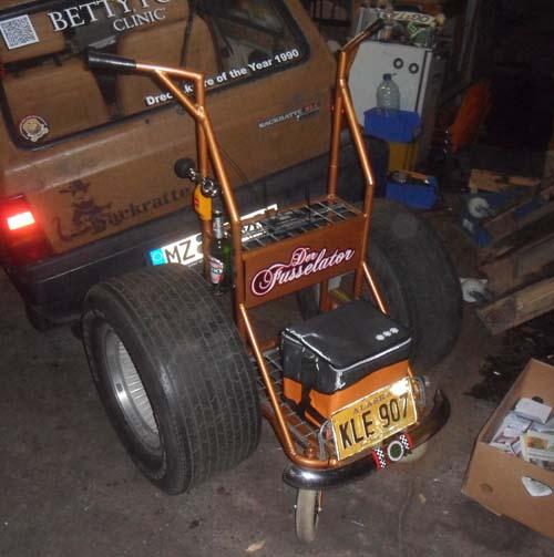 Rollator Tuning