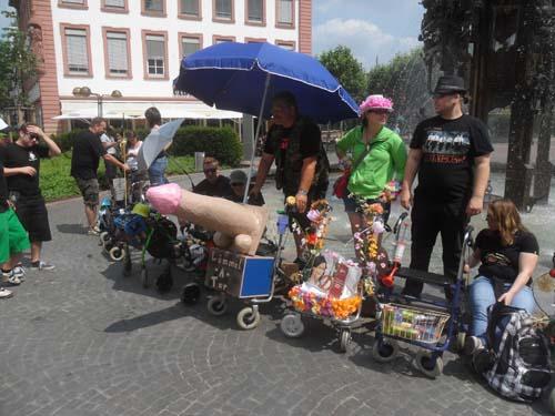 Rollator flashmob 2013