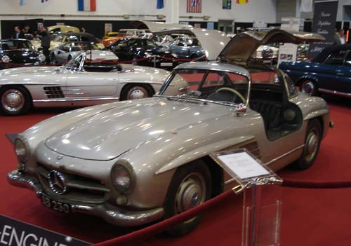 Mercedes 300SL Gullwing Patina