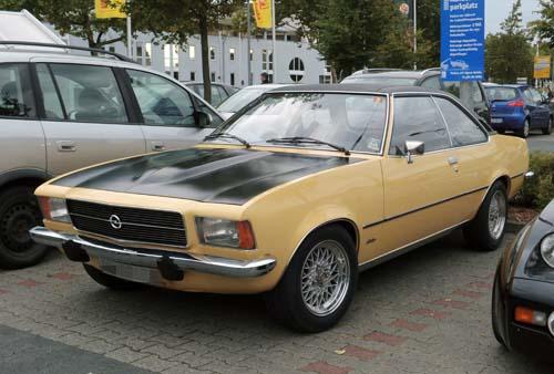 Opel Rekord D Coupé