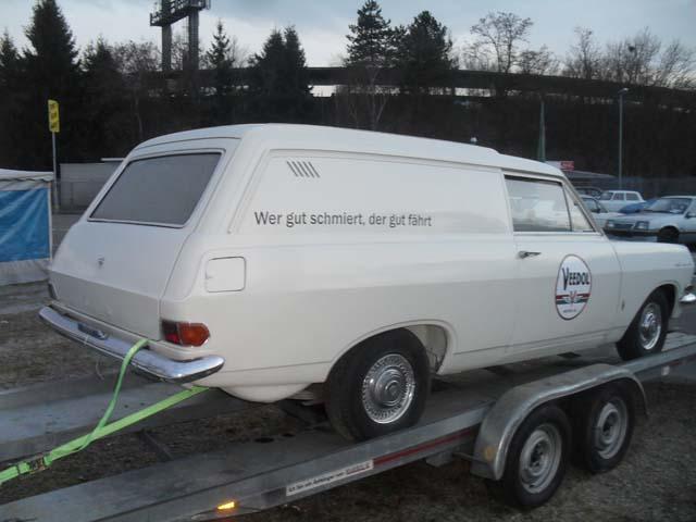 Opel Rekord Schnellieferwagen