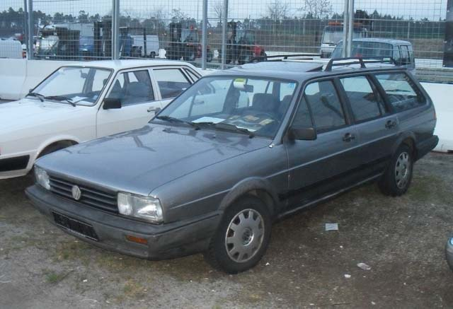 VW Passat 32B Syncro