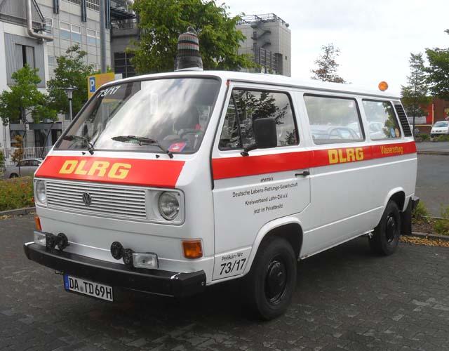 DLRG VW Bus T3