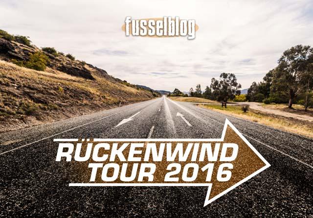 Rückenwind Tour 2016