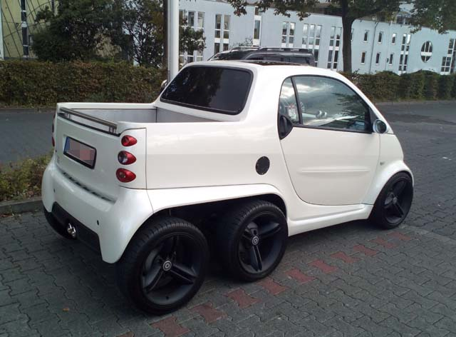 Smart Fortwo Dreiachser Pickup