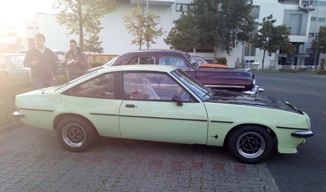 Opel Manta Lindgrün