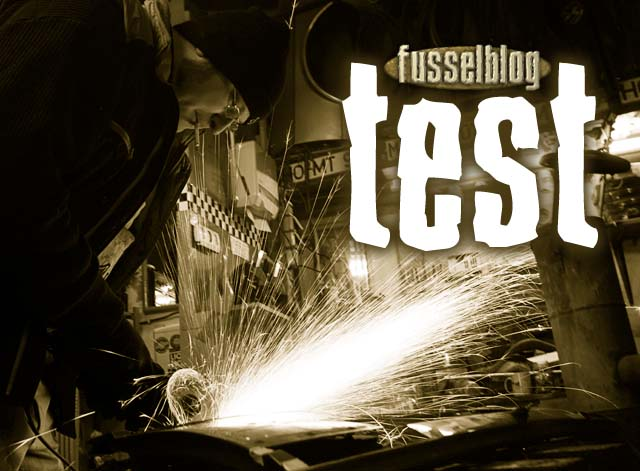 Fusselblog Test