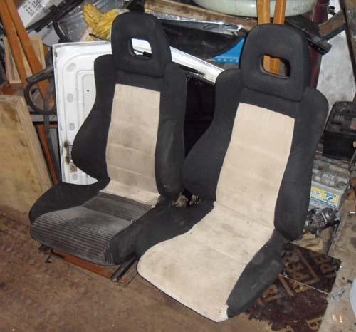 CRX Sitze